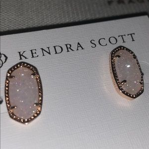 Kendra Studs in Drusy